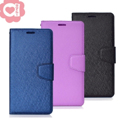 Apple iPhone 7/8/SE 2020 (4.7吋) 蠶絲紋月詩時尚皮套 多功能側掀磁扣手機殼/保護套 藍紫黑多色可選