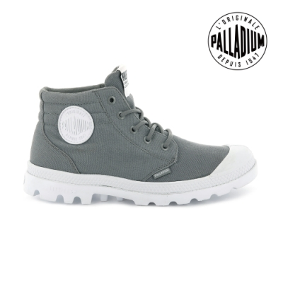 PALLADIUM BLANC LITE LOW CUFF輕量低筒靴-男-灰