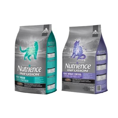 【2入組】Nutrience紐崔斯INFUSION天然糧系列 5kg(11lbs) 送全家禮卷50元*1張 購買第二件贈送寵鮮食零食*1包