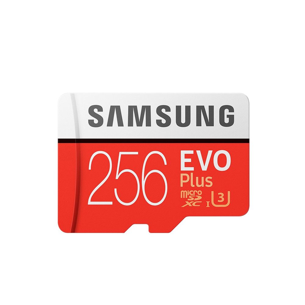 SAMSUNG三星 256G EVOPlus U3 microSDXC記憶卡
