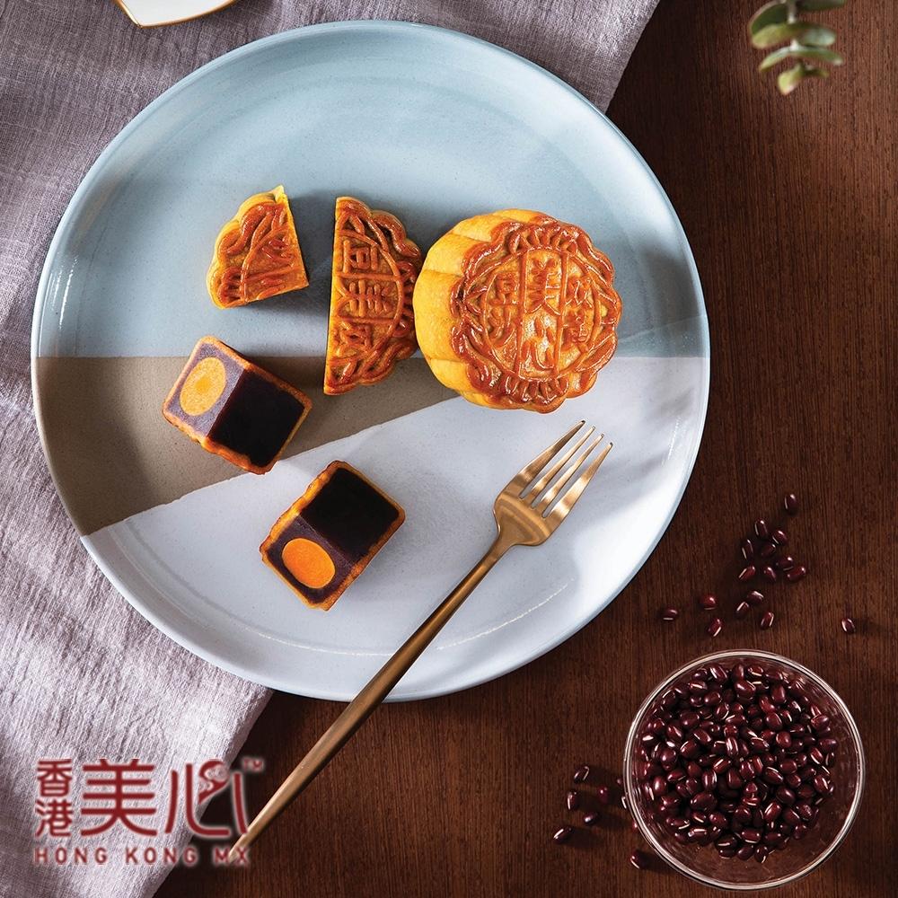預購-美心 雙黃豆沙月餅(4入/盒)