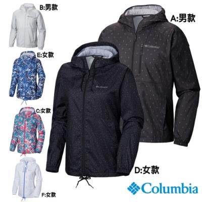 Columbia 哥倫比亞 男女款-防潑水風衣-6色
