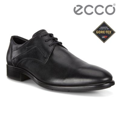 ECCO CITYTRAY 適途紳仕商務防水正裝鞋 男鞋 黑色