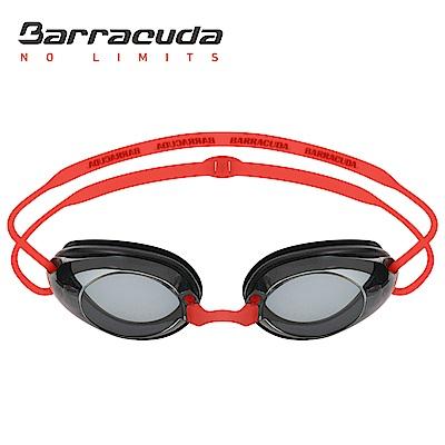 美國巴洛酷達Barracuda成人近視泳鏡-紅色頭帶# 2195