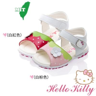 (雙11)Hello Kitty童鞋 手工超纖減壓鞋-白紅.白粉
