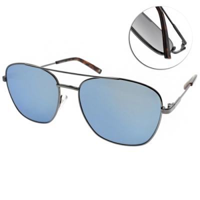 Polaroid 水銀偏光太陽眼鏡 時尚飛行款/槍藍 #PLD2068SX 6LB5X