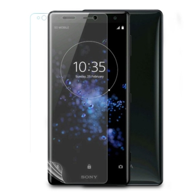 o-one大螢膜PRO Sony XZ2 滿版全膠保護貼超跑包膜頂級原料犀牛皮台灣製
