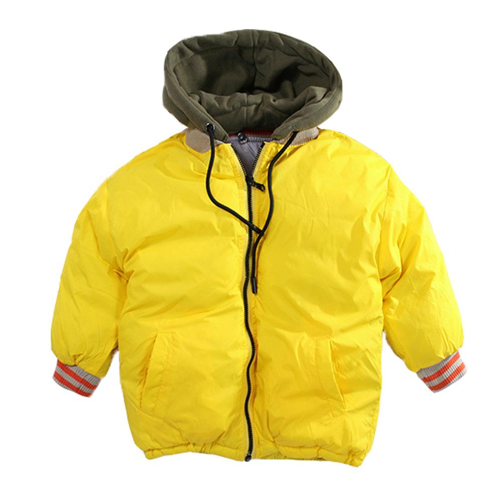 鋪棉防風保暖連帽外套 k60923 魔法Baby
