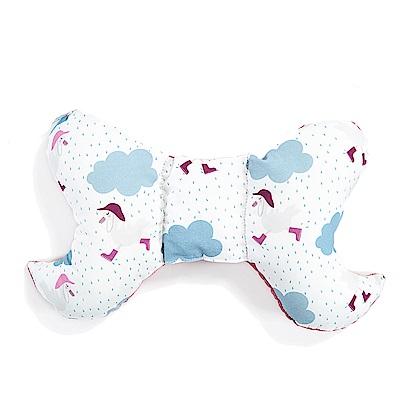 La Millou 天使枕護頭型嬰兒枕-竹纖機能款-雨點達達鴨
