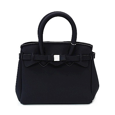 SAVE MY BAG 義大利品牌 PETITE系列 經典黑超輕量手提托特包