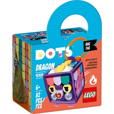 樂高LEGO DOTS系列 - LT41939 行李吊牌 龍