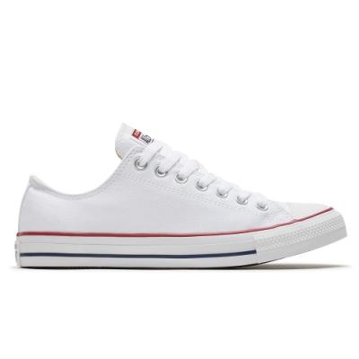 CONVERSE ALL STAR 低筒 帆布鞋 休閒鞋 男女 白色-M7652C
