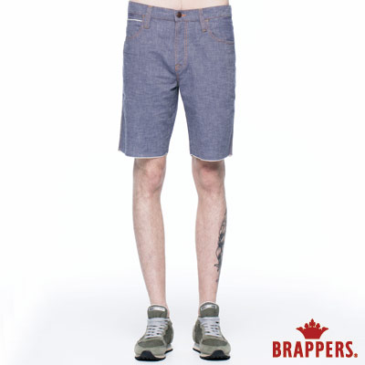 BRAPPERS 男款 HM中腰系列-男用五分褲-芋紫