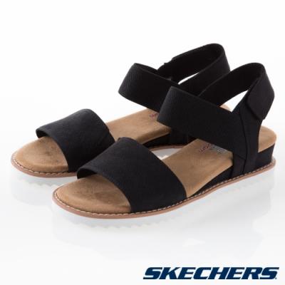 SKECHERS  女休閒系列 涼拖鞋 BOBS DESERT KISS-31440WBLK