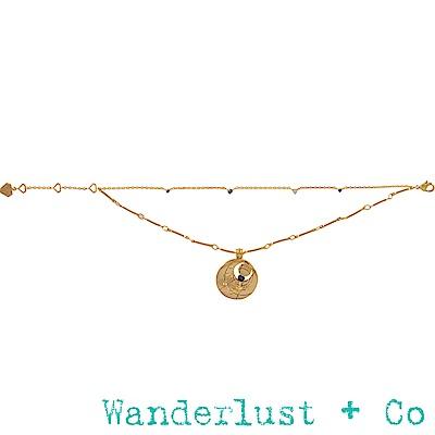 Wanderlust+Co 生日石系列- 九月手鍊