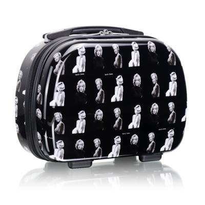 旅遊首選 旅行收納可外掛式 PC硬殼收納箱 化妝包 過夜包(瑪麗蓮夢露)