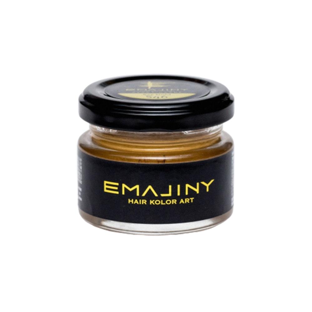 EMAJINY  彩色造型髮蠟-Gold 36g