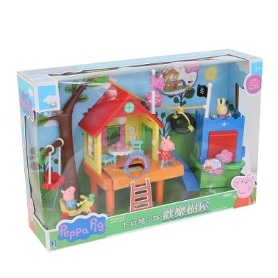 Peppa Pig 粉紅豬小妹 粉紅豬小妹歡樂樹屋家家酒玩具