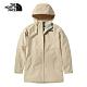 The North Face北面女款米色防水透氣連帽衝鋒衣|4U7SRB6 product thumbnail 1