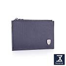 74盎司 皮夾 FIT 時尚薄型卡片零錢包[N-579-FI-M]藍
