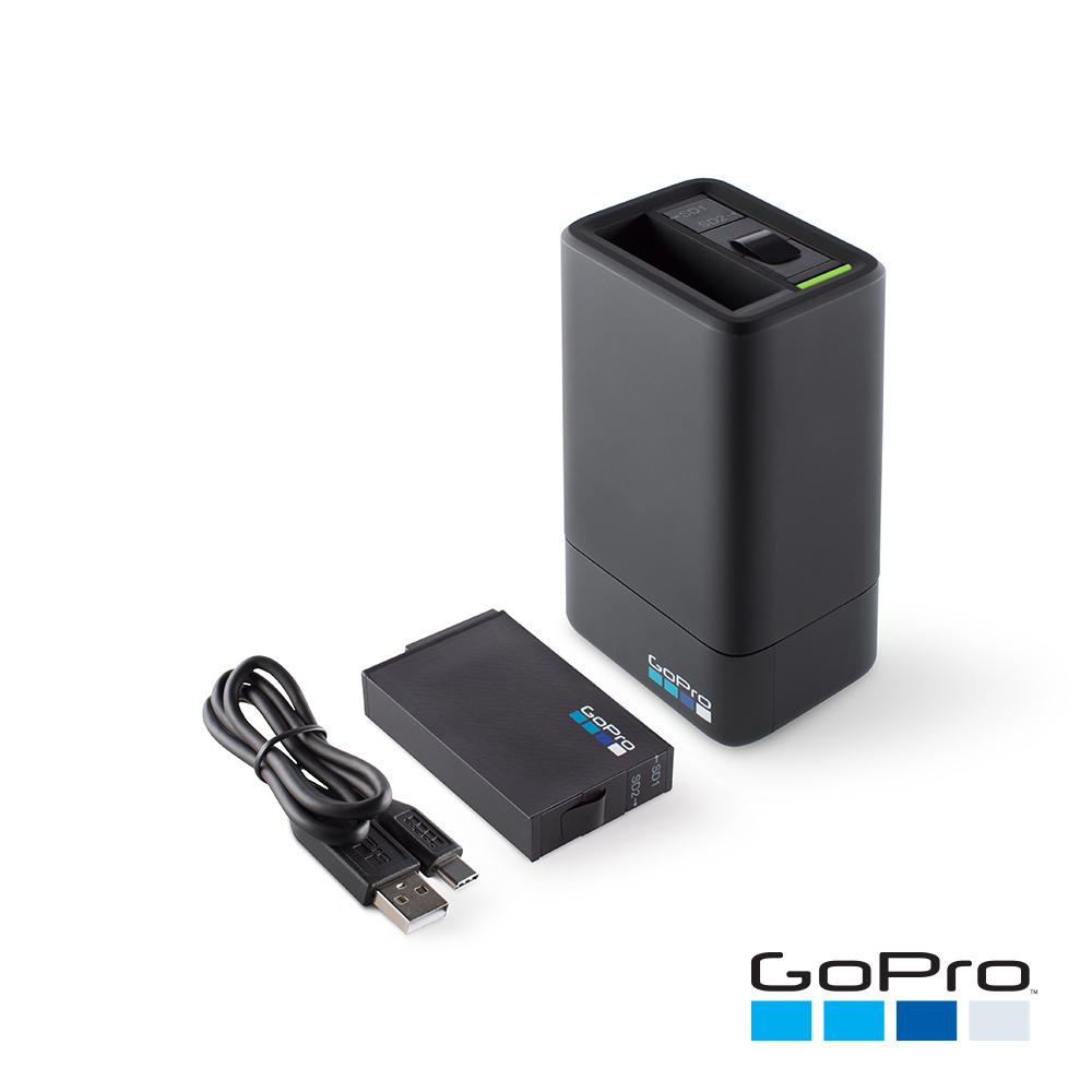 GoPro-FUSION雙電池充電器+電池ASDBC-001-AS