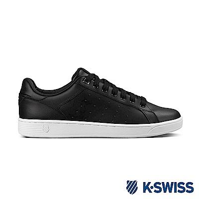 K-Swiss Clean Court CMF休閒運動鞋-男-黑