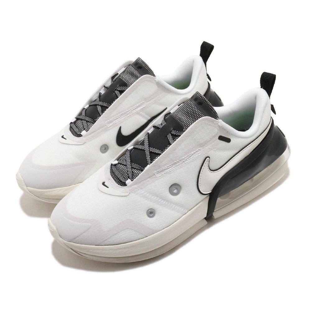 Nike 休閒鞋 Air Max UP 運動 女鞋 氣墊 舒適 避震 簡約 球鞋 穿搭 白 黑 DA8984100