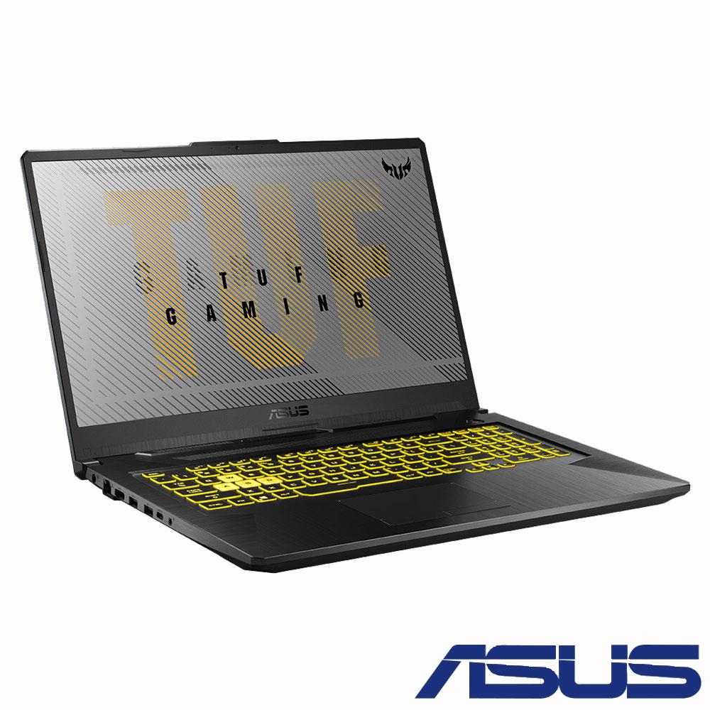 ASUS FA706IU 17吋電競筆電 (R9-4900H/GTX1660Ti/8G/1TB SSD/TUF Gaming/幻影灰)