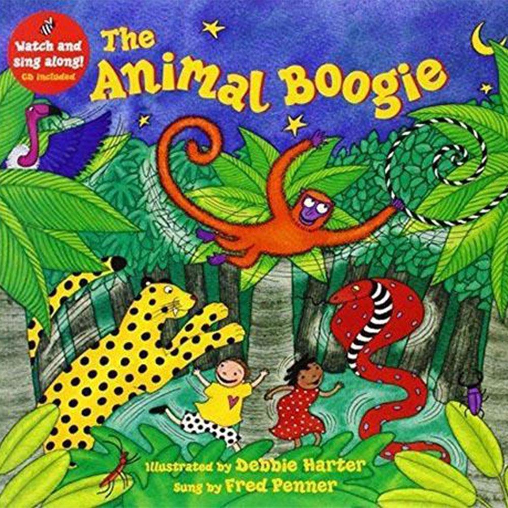 The Animal Boogie 動物歡樂跳平裝繪本(CD一入)