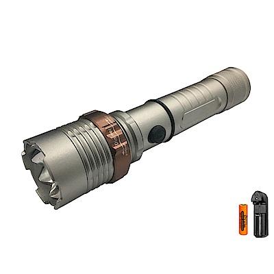 WIDE VIEW戰術旋轉變焦XML T6手電筒組NZL-XT6-AT