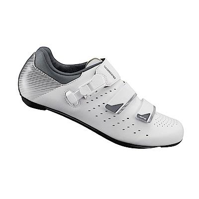 【SHIMANO】RP301 男性公路車性能型車鞋 寬楦 白色