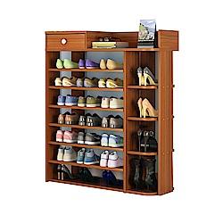 【Incare】百搭多格大容量收納鞋櫃(8層/3色可選)