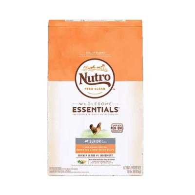 美士全護營養系列 高齡犬配方(農場鮮雞+糙米、地)30磅