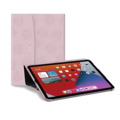 【kate Spade】iPad Air 4/Pro 11 蜀葵壓花保護殼/套-粉紅