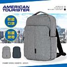 新秀麗 美國旅行者 14吋筆電後背包 BOOM CLAP 大容量 雙肩包 TF8 (灰色)