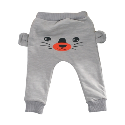 嬰幼兒動物造型束口長褲 k61027 魔法Baby