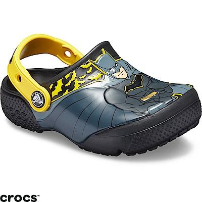 Crocs 卡駱馳 (童鞋) 蝙蝠俠小克駱格-205514-001