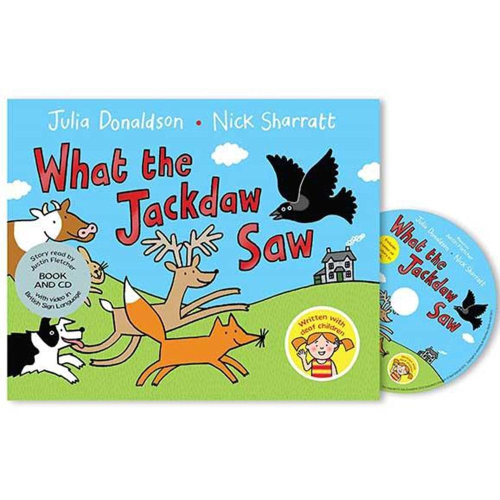 What The Jackdaw Saw 烏鴉的手語體驗CD平裝繪本