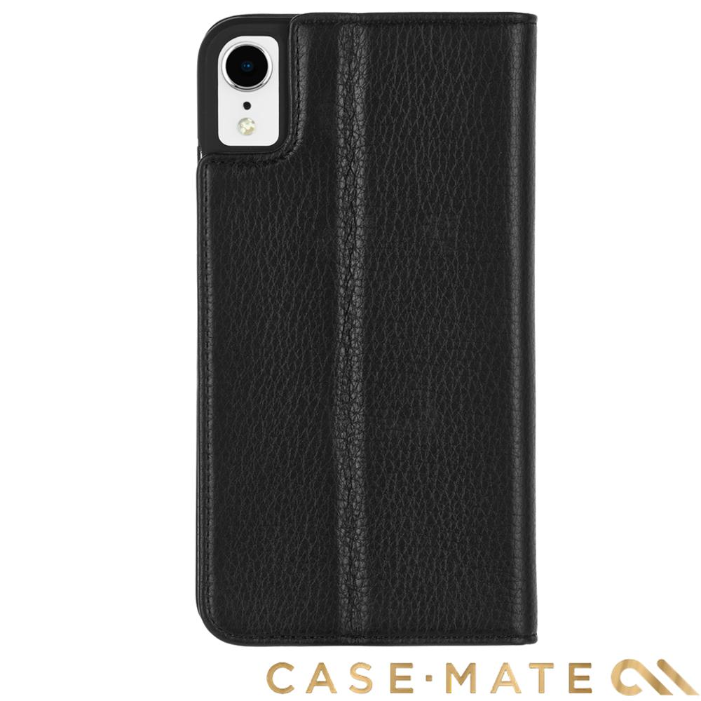 美國Case-Mate iPhone XS Max Wallet Folio 真皮夾殼-黑