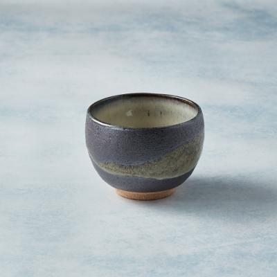 有種創意 日本美濃燒 - 手感和風茶杯 - 流水行雲 - 250ml