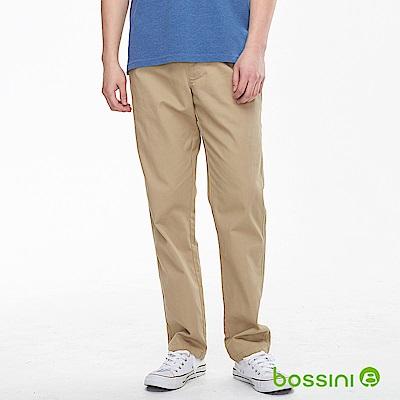 bossini男裝-輕鬆長褲01黃銅色