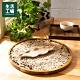【週年慶↗全館8折起-生活工場】葉意輕拂線香皿-燕麥 product thumbnail 1