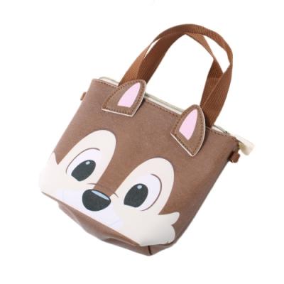 迪士尼松鼠奇奇側背-手提兩用小包 f0344 魔法Baby