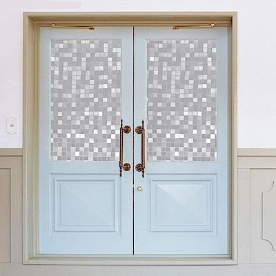 半島良品 無膠玻璃靜電貼-瓷磚 45x200cm