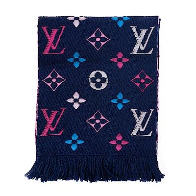 LV 經典彩色MonogramLOGOMANIA RAINBOW圍巾 (M70899)