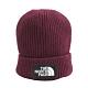 TNF LOGO BOX CUFFED BEANIE - NF0A3FJXHBM 毛帽