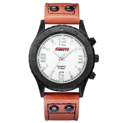 Watch-123 簡約大度男神氣質時尚穩重手錶 (4色任選)