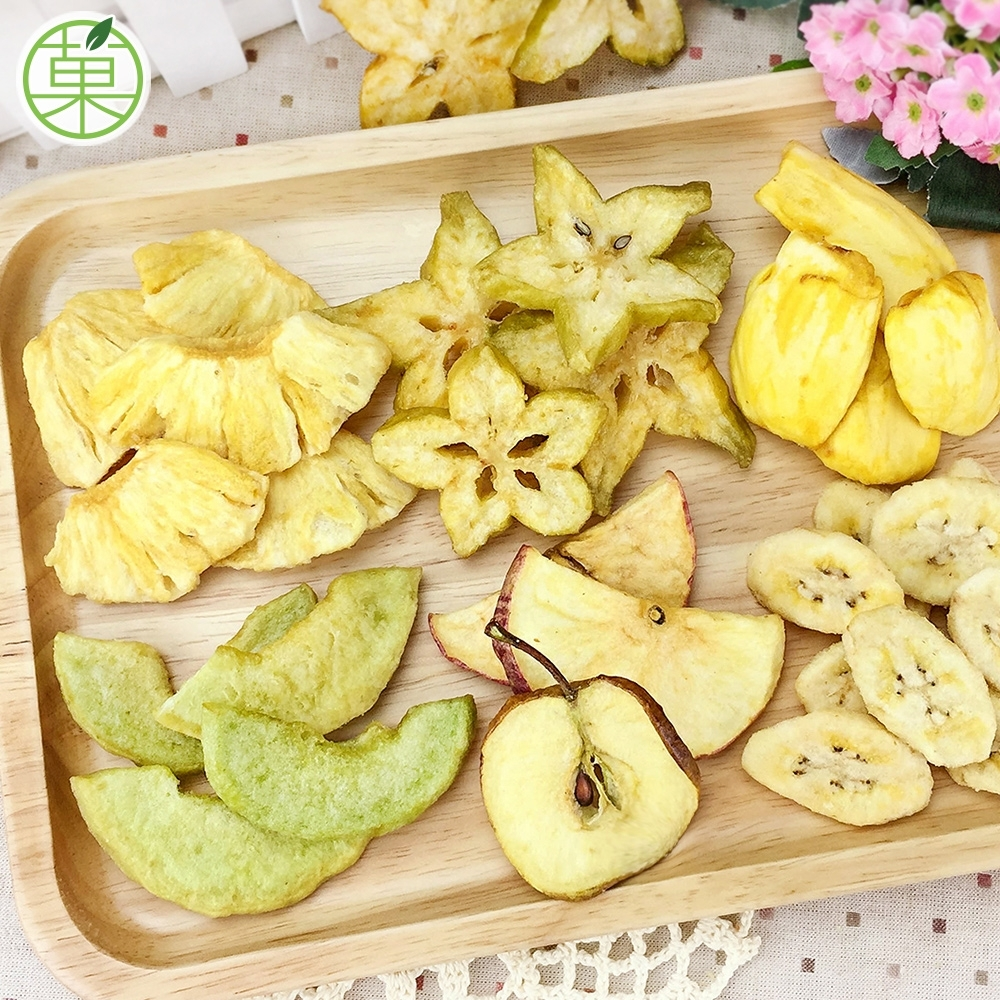 菓青市集 綜合水果脆片150g
