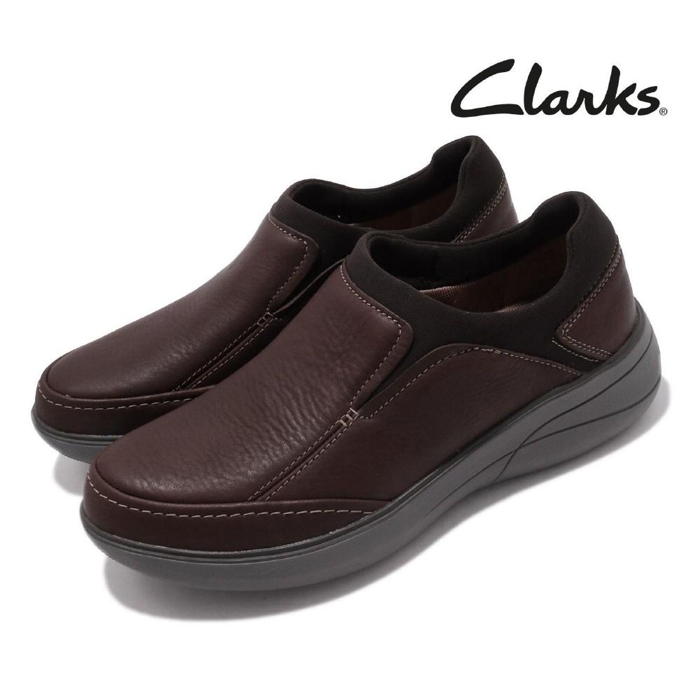 Clarks 休閒鞋 Un Rise Step 男鞋