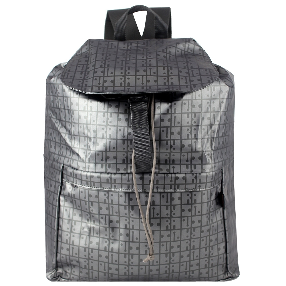 YAMATOYA RaviRavi 防水輕材質系列折疊後背包(銀)